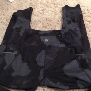 Yoga pants camo